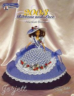 American Beauty, Annie's Ribbons & Lace Collection crochet patterns