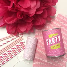 Pink items from The Entertaining Shoppe!