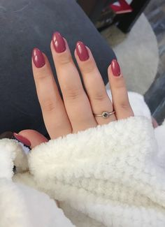 #berrynude #nails #extend #semilac #hybrid #manicure