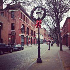 Christmas streets