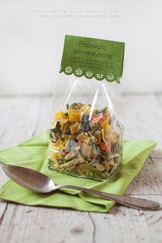 Preparato per minestrone fatto in casa: idea per regali di Natale 2013