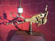 Very RARE Antique 1858 Hendricks Sewing Machine |