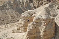 SCENARI X PRESEPE - ISRAELE QUMRAM- CAVE & ROTOLI DEL MAR MORTO