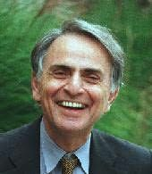 Carl Sagan  USA  (1934 - 1996)  (Father of Nick Sagan)