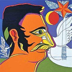 Régulo Pérez Venezuelan contemporary painter