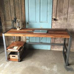 Reclaimed Wood Patchwork Desk -  . http://mtr.li/2lgMbwy #musthave #musthaves #loveit