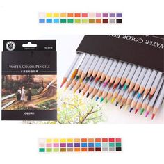 DELI 36PCS Assorted Water Soluble Drawing Stationery #shoes, #jewelry, #women, #men, #hats, #watches, #belts