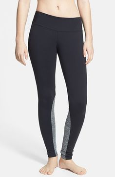 two tone leggings / hard tail - good for winter sleepwear when you live with a cover hog