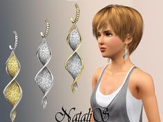 NataliS twisted earrings FT-FA