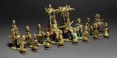 Chess Set India, 19th century The British Museum