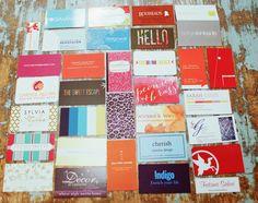 Blogger Business Card Inspiration