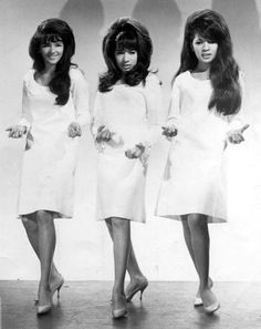 "The Ronettes didn't get the acclaim they should have. Blame Phil Spector, for releasing 1/2 of their records as ""the Crystals"", and trying to split the group up. Big hair, big voices and ""bad girl"" vibes, kept them from getting the glamorous image that The Supremes did."