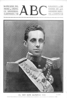 Alfonso XIII of Spain - Wikipedia | Casas Reales . | Pinterest ...