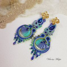 Black Friday SALE!!! https://www.etsy.com/listing/478105468/discount-coupon-code-dangle-earrings?ref=shop_home_active_6  This is a magical soutache earrings 3 in 1. When I first saw the jewelry in the technique of soutache embroidery, I thought - it is the real magic. I wanted to create jewelry that would be different from works of other designers and would be something special. And I created a collection of magical jewelry that can be changed or transformed. Why my jewelry is magical? The…