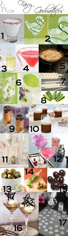 Cocktail garnishes and presentation #garnish #cocktail #inspiration