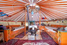 Mongolian Yurt, Dresden, Germany. | 27 Incredible Airbnb Locations In Europe
