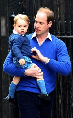 New Royal Baby Pictures Leaked #fashion #style #blue #prince #harry