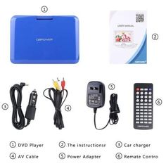Portable DVD Players Dolby Digital, Multimedia, Usb, Portable, Videos, Dvd Players, Ebay, Video Clip