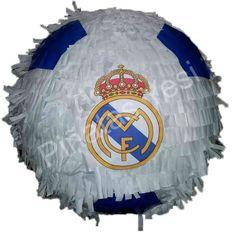 Piñata Mexicana Artesanal del Real Madrid tipo balón