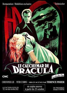 Horror of Dracula (1958) ~ French poster