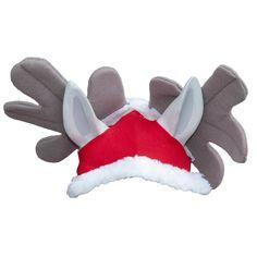 De Harrys Horse #Kerstmuts #Rendierenmuts Rudolph. Steel de show met deze grappige #muts voor je #paard of #pony. #equestrain #ruitersport #ruiter #divoza #kerst #christmas