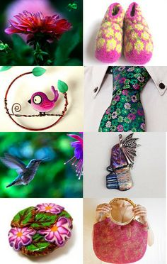 Spring in the forest by Mammabook on Etsy--Pinned with TreasuryPin.com