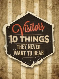 10 Things Church Visitors Never Want to Hear