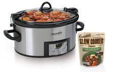 Crock-Pot SCCPVL610-S 6-Quart Programmable Cook and Carry Oval Slow Cooker, Includes One Bonus Campbell's Slow Cooker Sauce Crock-Pot,http://www.amazon.com/dp/B00EUXOO7S/ref=cm_sw_r_pi_dp_cXzzsb0M1BRT2GWQ
