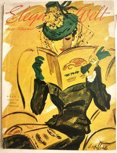 1920s Fashion Magazine Covers | ... - Elegancias, Vintage Fashion ...