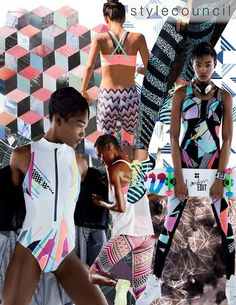 Style Council: Stay Active! Show off your strength with our new activewear designs! Balancing bold color palettes with fresh techniques, these prints are ready to be transformed into some stylish work out gear. Abstract textures, colorful tribals, stylish geometrics and sweeping florals make up our favorite performance wear trends this season. Whether on a pair of slick leggings, a sports bra or some fly sneakers, this printed active lifestyle is big and here to stay!  So keep the movement…