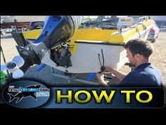 How to install a transducer - TAFishing Show - YouTube