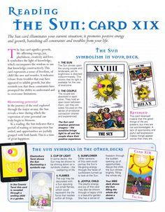 Tarot: Reading the Sun card