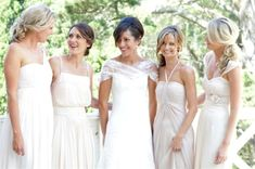 mismatched ivory bridesmaid dresses - Google Search