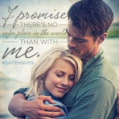 There's no place we'd rather be. ©2014 FOX All Rights Reserved Safe Haven Quotes, Romantic Movie Quotes, Favorite Movie Quotes, Spark Quotes, Tv Quotes, Movies And Tv Shows, Movies Showing, Love Movie, Fandom