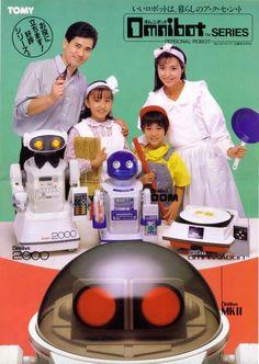 Omnibot robots toys ad