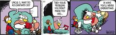 What does an accountant do?  Shoe Comic Strip, August 01, 2014 on GoComics.com