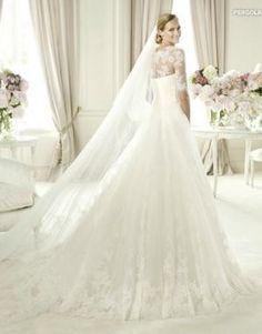 Pronovias Pergola Wedding Dress on Sale 55% Off