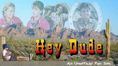 "90's TV - Nickelodeon's ""Hey Dude""  It's a little wild and a little strange when you make your home out on the range. Start your horse and come along, but you can't get a ride if you can't hold on. Singin' yippee-ki-eye-ay (yippee-ki-eye-what?), Yippe-ki-eye-ay (get along little doggie), 'til the break of day. (Better watch out for them man-eating jack rabits and those killer cacti... heeeeeeeey dude!"
