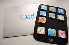 iDad - A fun Father's Day card #diy