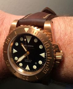 OceanicDreams: Some of you may have seen the Helson Shark Diver Watch before - in Surgical Steel.
