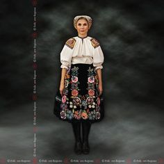 DolnýBadín, Slovakia Folk Costume, Costumes, Folk Embroidery, Eastern Europe, Traditional Outfits, European Countries, Czech Republic, Travelling, Pattern