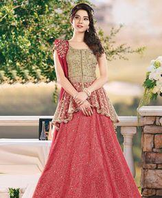 #hey @a1designerwear . Item code: APRL4300 . Buy Graceful Red #Lehenga #Choli #onlineshopping with #worldwideshipping at  https://www.a1designerwear.com/graceful-red-lehenga-choli-11   . #a1designerwear #a1designerwear . #instashop #worldwide #thankyou