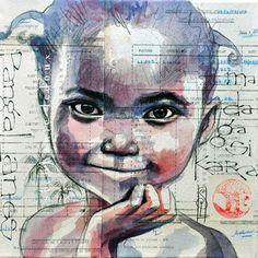 Stéphanie Ledoux - Carnets de voyage: Manakara en bleu