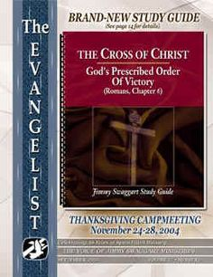 "Jimmy Swaggart's ""Message Of The Cross"" Examined: A Pentecostal's Perspective"