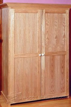 Rustic Armoire Plans   Furniture Plans And Projects   Woodwork,  Woodworking, Woodworking Plans,