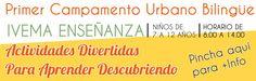 Campamento de Verano Bilingue en Carabanchel  organiza Academia IVEMA.