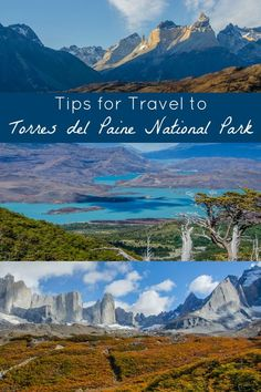"""Tips for Travel to Torres del Paine National Park in Chile's Patagonia region: Tips for planning your trip including maps of the top trekking and hiking routes in Torres del Paine (including the """"W"""", and the """"O circuit""""), tips for camping, refugios, and hotels, and more. Torres del Paine is one of the most beautiful places I've ever been--consider adding this Patagonian park to your South America travel bucket list! // Parque Nacional Torres del Paine, Magallanes, Chile"""