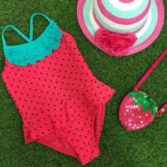 We've fallen in love with this strawberry themed range from Primark! With frills and sparkle, this really is every little one's dream!