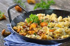 Saisonaler Hochgenuss nicht nur für Pilzsammler. Das Rezept für Schwammerl mit Ei ist ein absolutes Muss für Schwammerl Liebhaber.