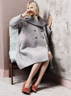 Celine (fur shoes by Walter Steiger)  Shot by Josh Olins, styled by Robbie Spencer